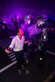 Robot Led mariage Nantes