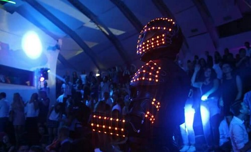 Spectacle robot led