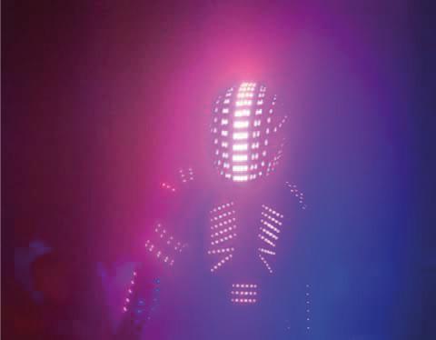 costume robo laser