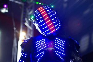 Show Robot Led Paris