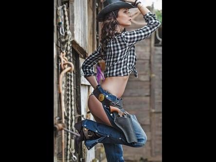 Stripteaseuse Cowgirl Gard