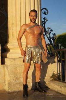 Gogo Danseur Gladiateur pour un anniversaire