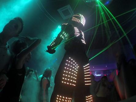 Robot Led laser discothèque Toulouse