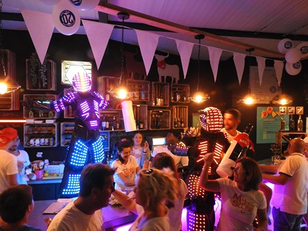 Robot Led Mariage Lille