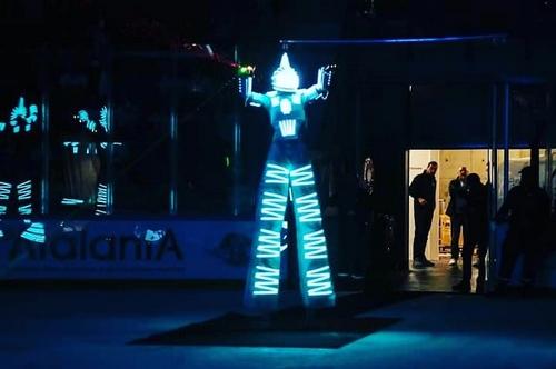 Robot Led pour un anniversaire à Rennes