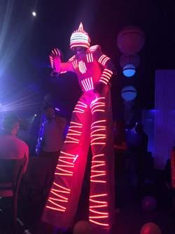 Robot Lumineux Mariage Rennes