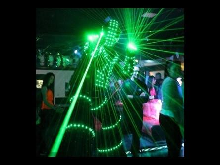 Robot Led discothèque Genève