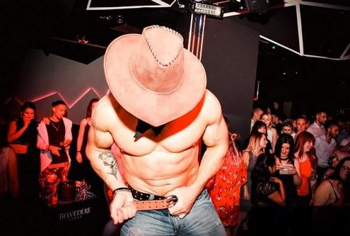 Gogo Danseur Cowboy Bas-Rhin