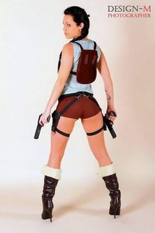 Gogo Danseuse EVG Lara Croft Rouen