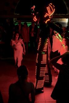 Robot Led Danse Toulon