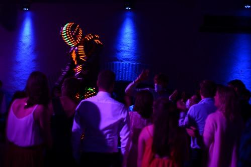 Robot Led discothèque Toulon