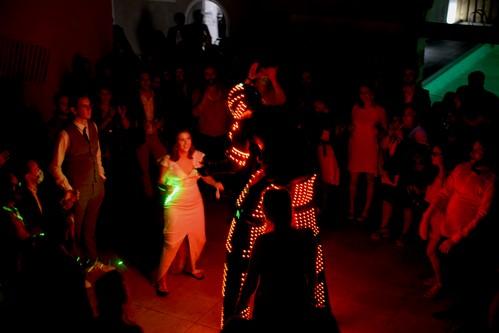 Robot Led mariage Toulon